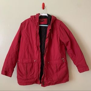 Wolverine Men's Hooded Coat Jacket Quilted Inner Size XL